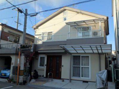 外壁塗装・屋根塗装(遮熱シリコン)・ベランダ防水工事