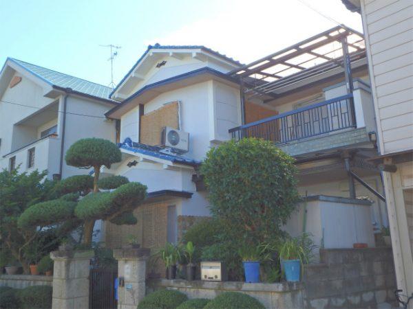 外壁の住宅塗装(シリコン)・波板交換