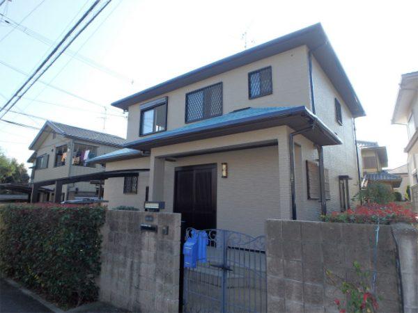 外壁塗装(窯業系サイディング)・薄型スレート屋根の遮熱塗
