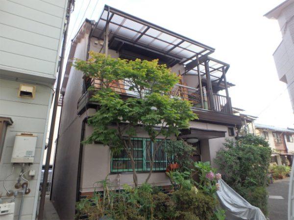 塗装工事(雨戸・雨樋・外壁)