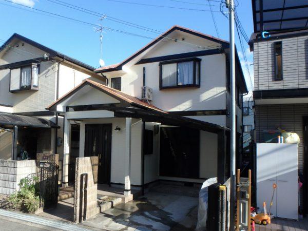 外壁の塗り替え(シリコン)・屋根の遮熱シリコン塗装