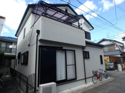 松原市の住宅塗装