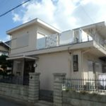 堺市堺区・外壁の塗り替え・防水工事(陸屋根)