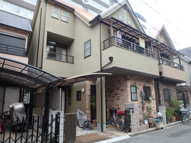 東大阪の塗装工事