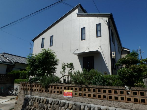 外壁塗装(窯業系サイディング シリコン塗装)・屋根の遮熱塗装