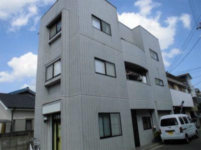 住宅塗装(外壁のタイル面クリアー塗装・タイル面補修)