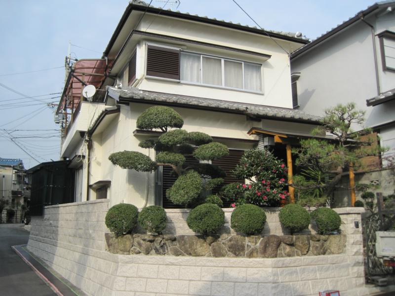 柏原市の住宅塗装