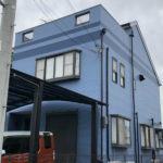 塗装後の住宅
