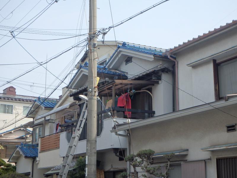 八尾市の台風被害