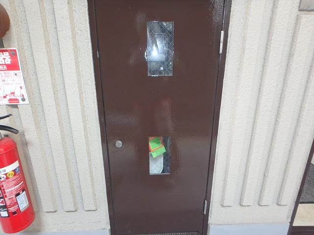 PS扉 塗装完了