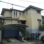 富田林市にて外壁塗装と屋根塗装