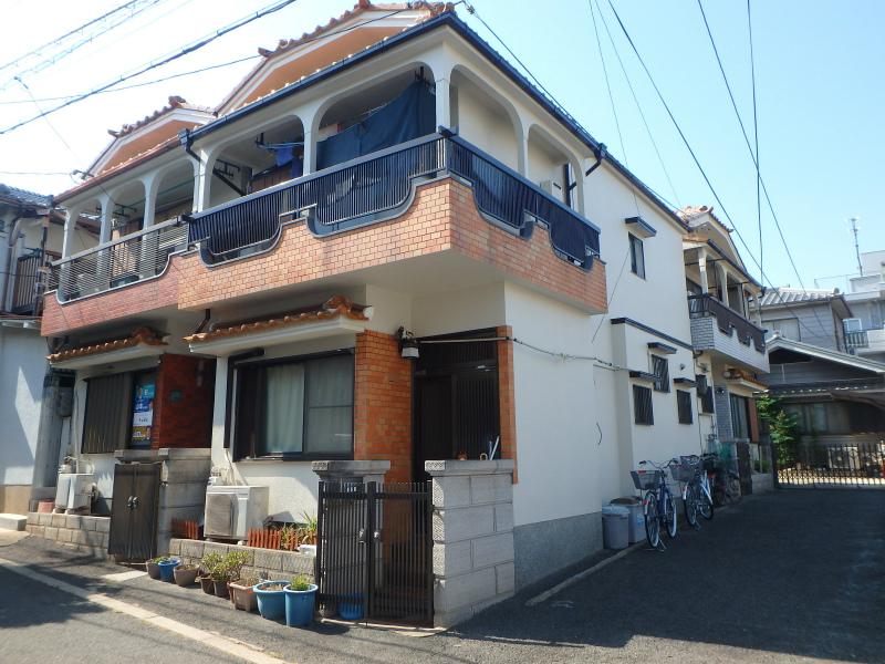 阿倍野区の住宅塗り替え
