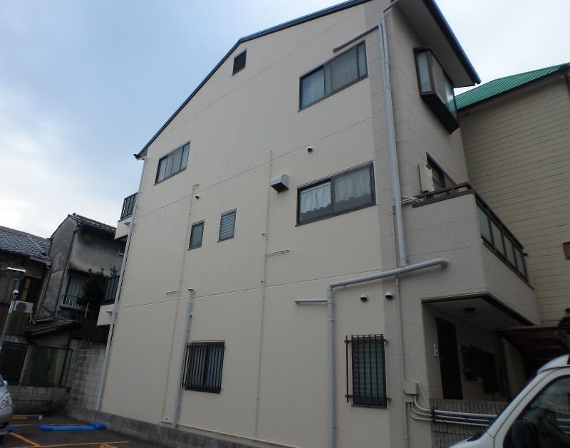 阿倍野区の住宅塗装