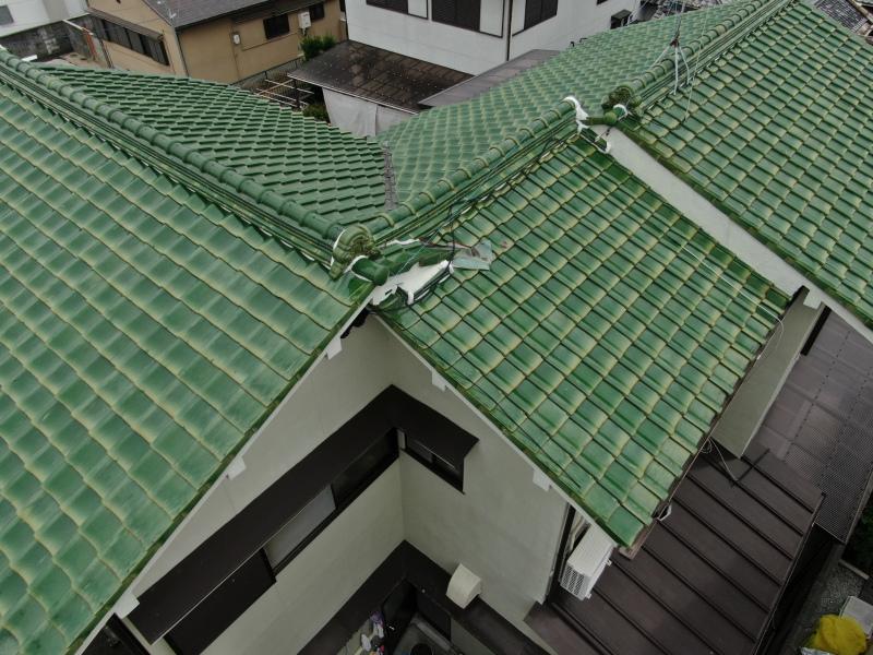 屋根の全体点検