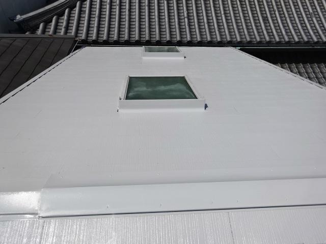 スレート屋根塗装の完成