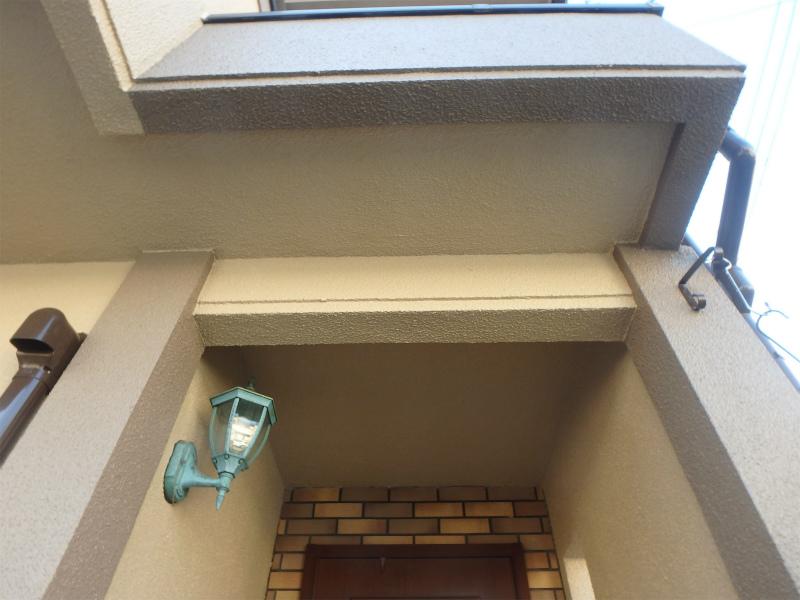 玄関周りの塗装工事