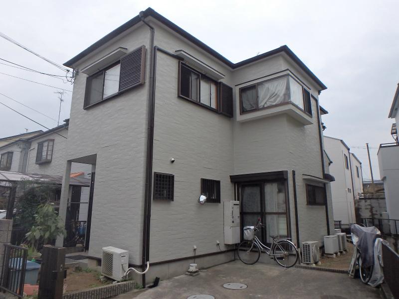 松原市の塗装後の住宅