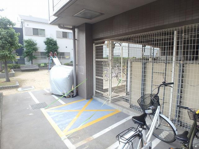 駐輪禁止ペイント