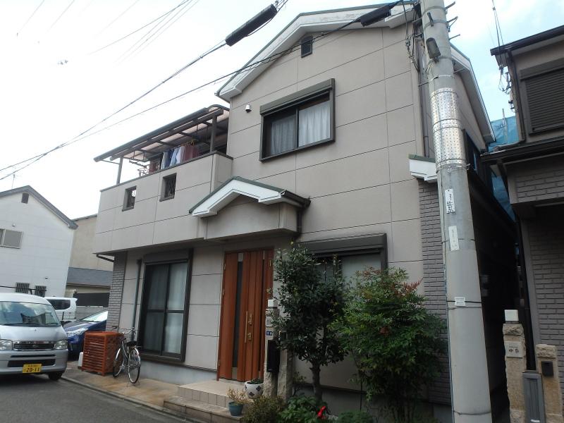 藤井寺の塗装工事