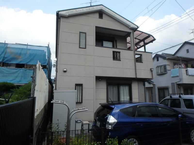 藤井寺の住宅塗装