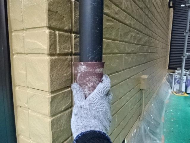 雨樋の下地処理
