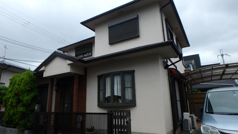 家の塗り替え