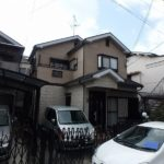 藤井寺市の外壁塗装前の住宅