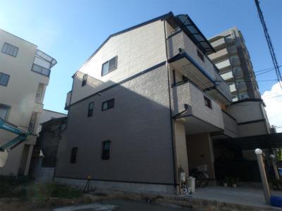 阿倍野区のサイディングの塗装