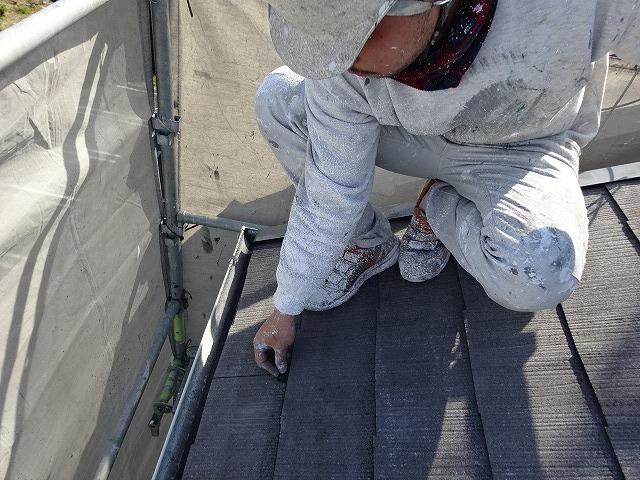 八尾市 スレート屋根塗装