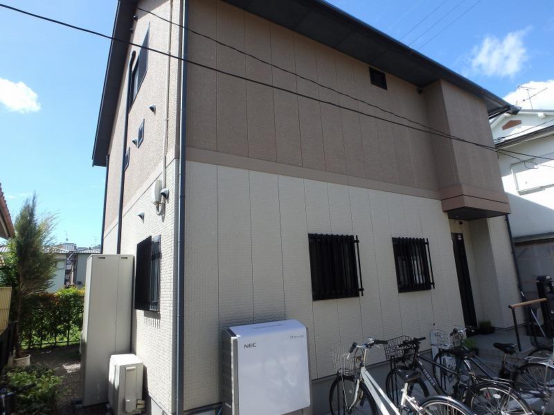 藤井寺市のミサワホームの家(塗装前)