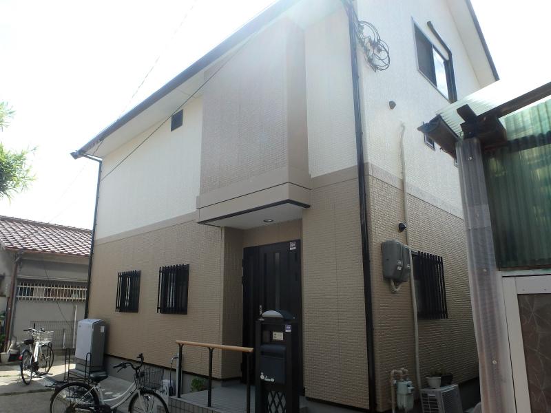 藤井寺市の屋根塗装とサイディング塗装