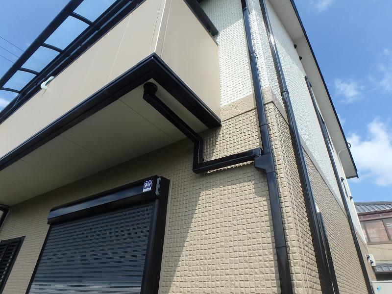 ミサワホームの住宅の屋根塗装と外壁塗装が完成