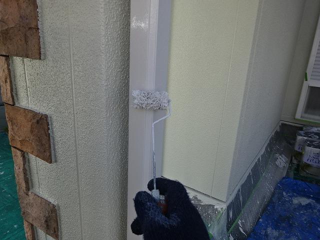 雨樋シリコン塗装
