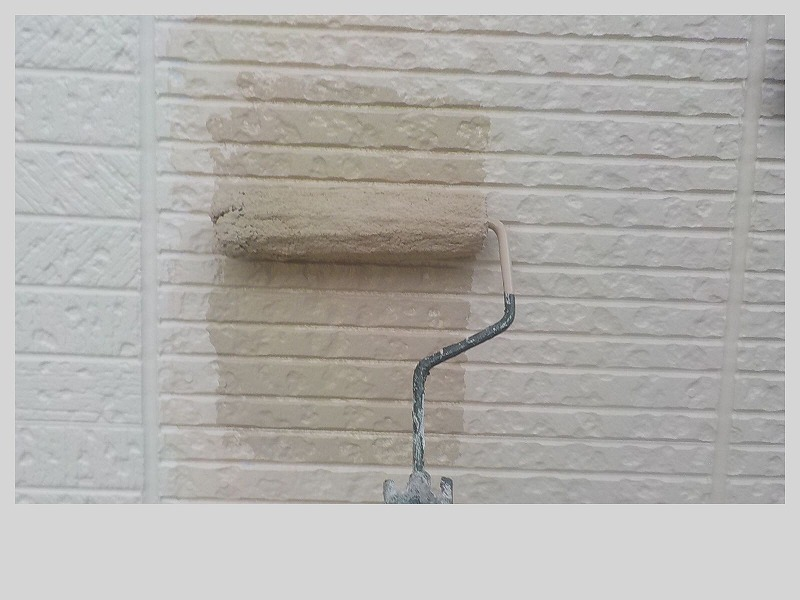 外壁ラジカル塗料上塗り