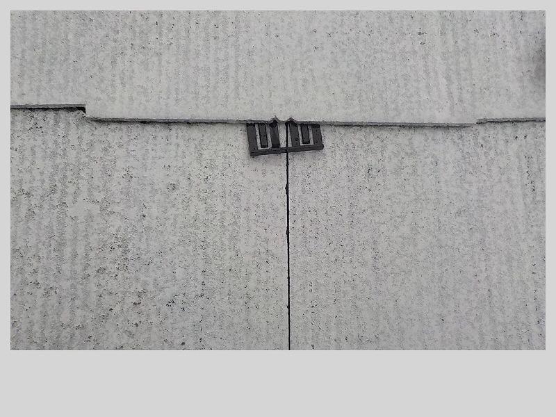 屋根のタスペーサー挿入
