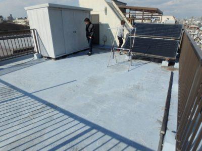陸屋根のウレタン防水の現状