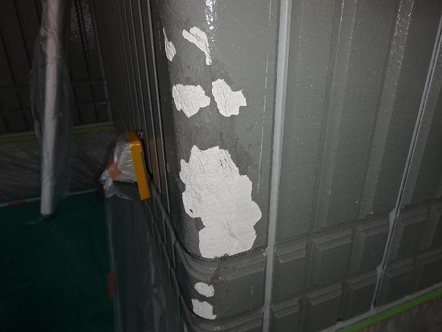 パナホームの外壁補修