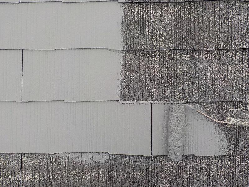 屋根ガイナ塗装