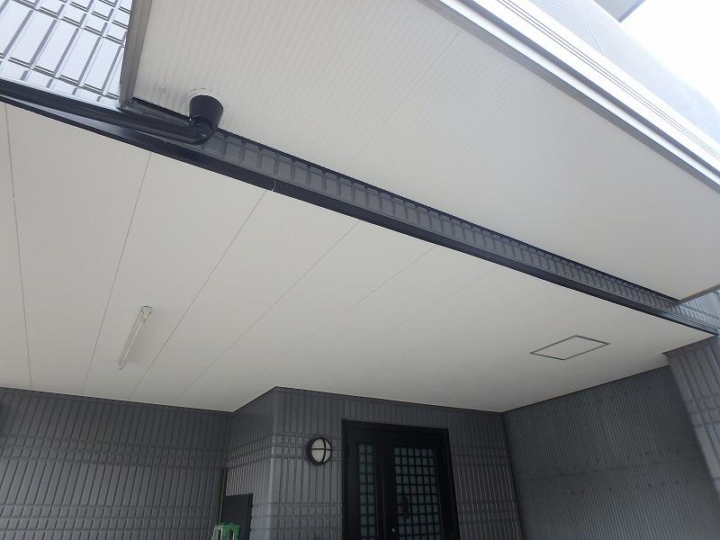 パナホームの天井塗装完