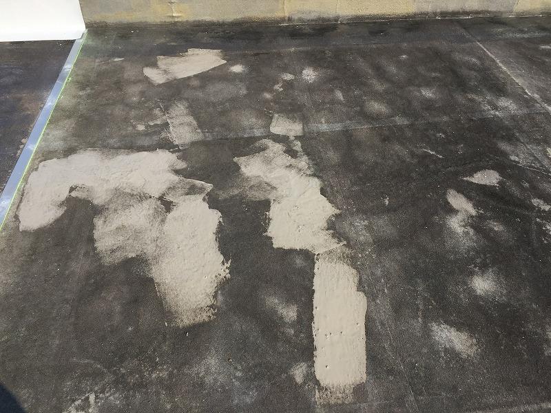 防水塗装の下地