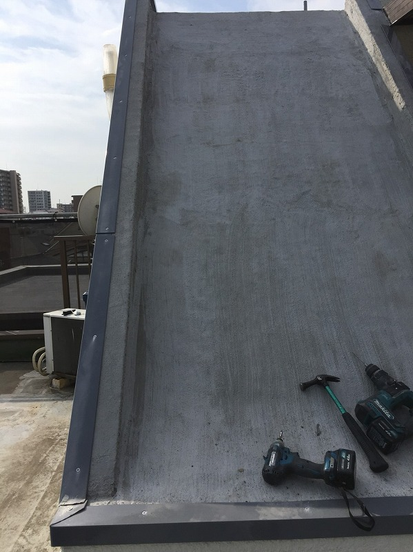 屋上防水 金具取付