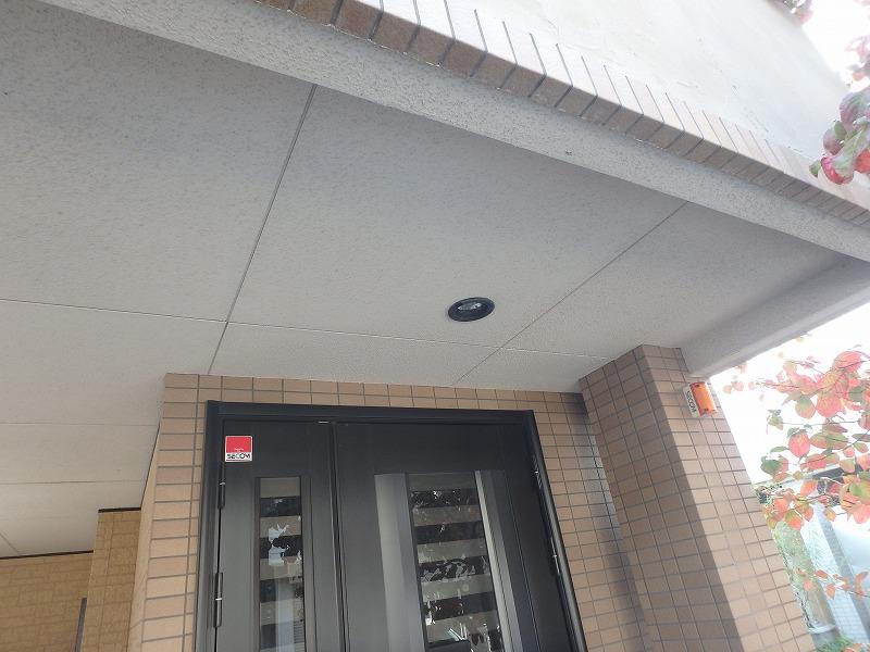 吹付リシンの天井