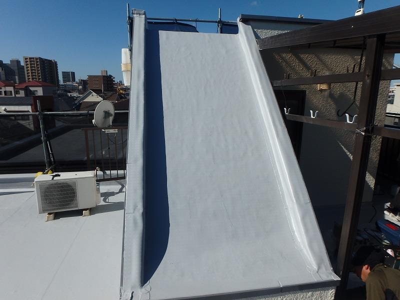 屋上防水 塩ビシート防水