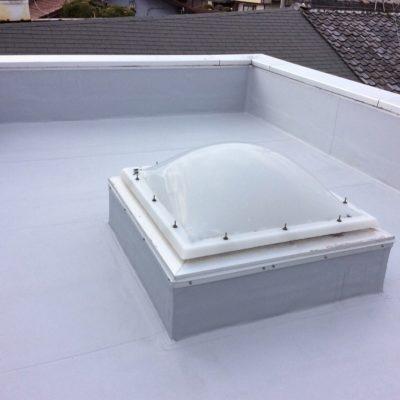 塩ビシート防水による屋上防水