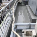ウレタン防水の完成