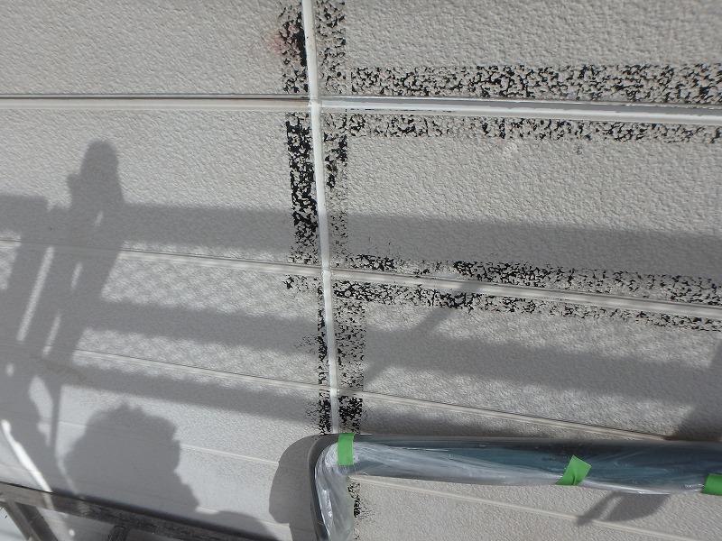 雨漏り箇所のコーキング