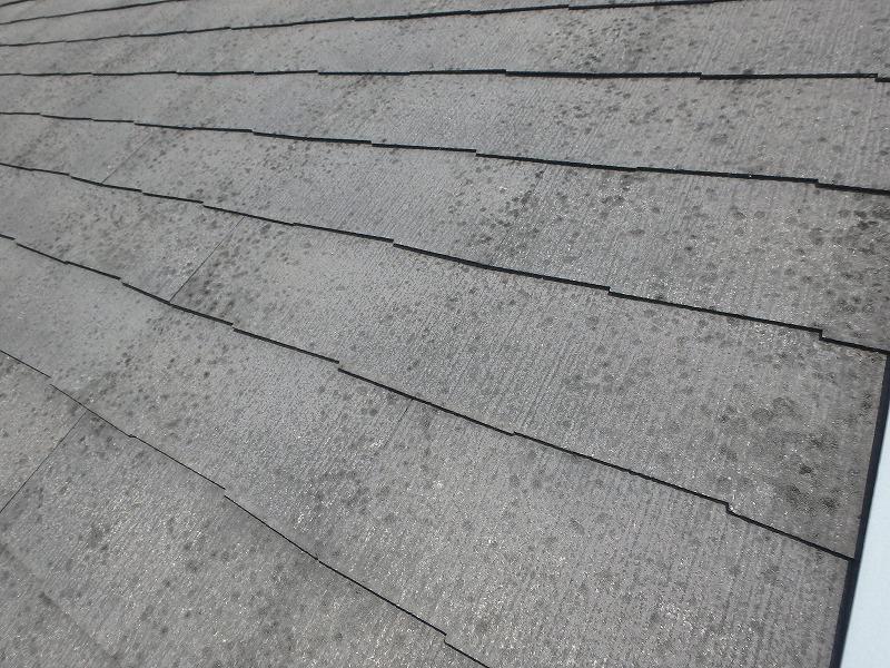 スレート屋根の劣化状況