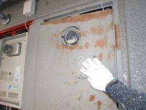 PS扉のケレン