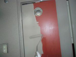 PS扉のシリコン塗装