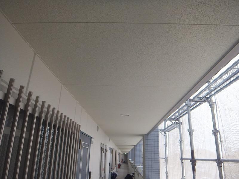 天井塗装後